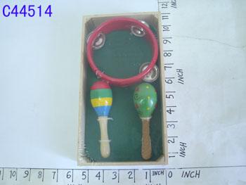 wooden toys set