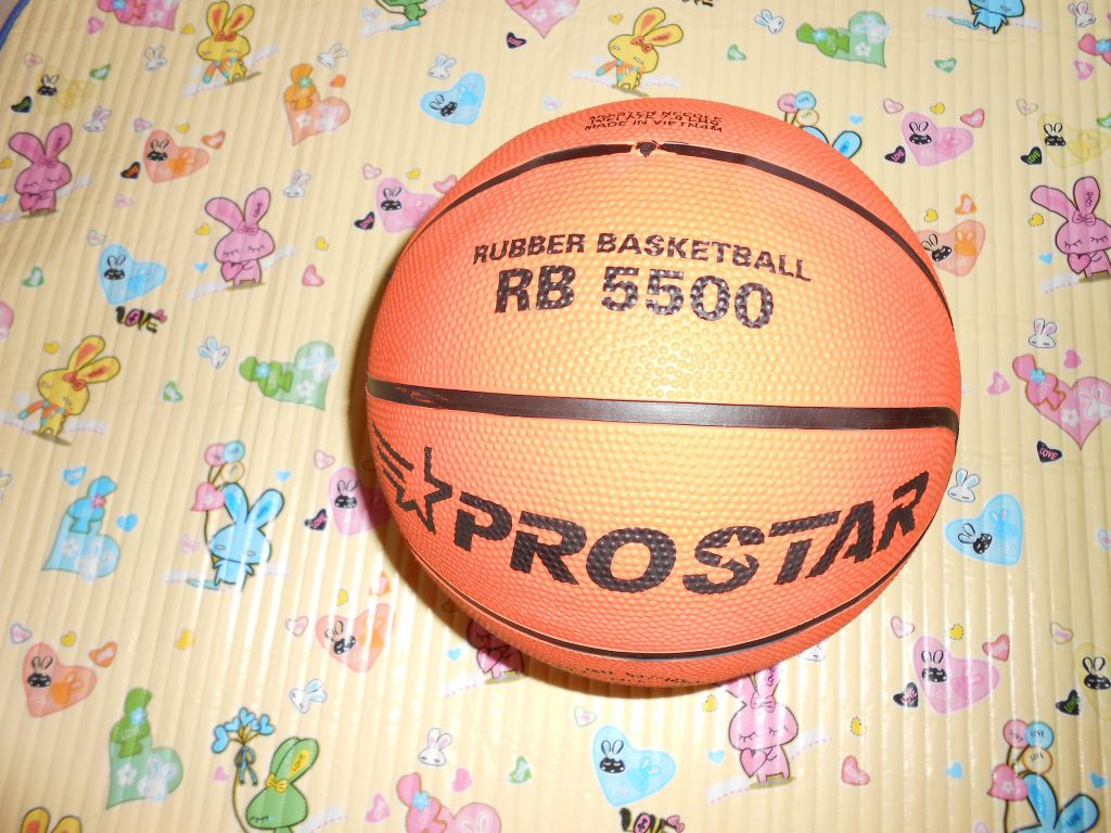 Rubber Basketball Size 5