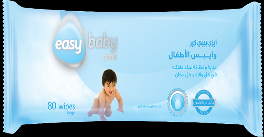 Easy Care Baby Wipes
