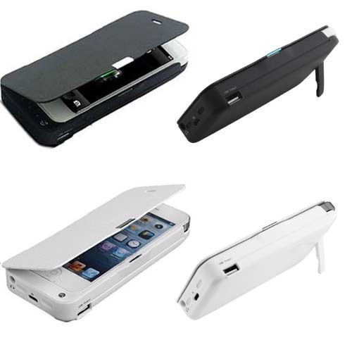 4200MAH External Power Backup Battery IOS7 Charger Case Cover For iPhone5/5S