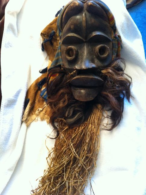Wooden African Mask