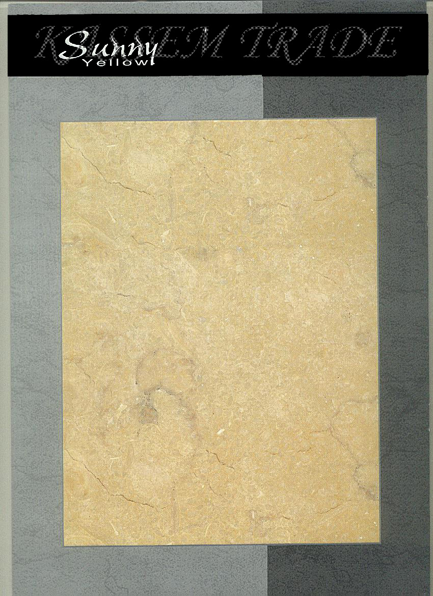 Sunny Yellow Slabs Tile Blocks
