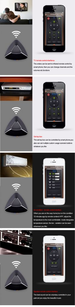 2014 hot selling Wifi smart remote controller
