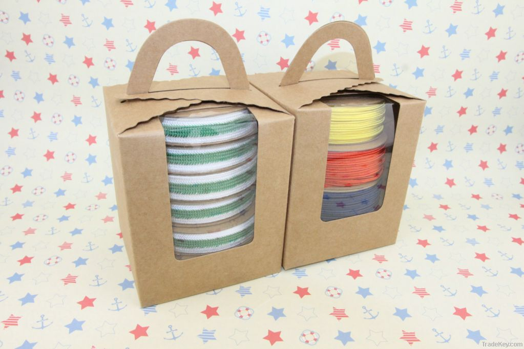 Decorative gift package ribbon