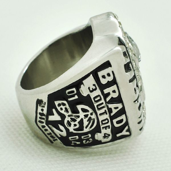Replica Rhodium Plated Brass Sport  World Men's Championship Rings Wholesale