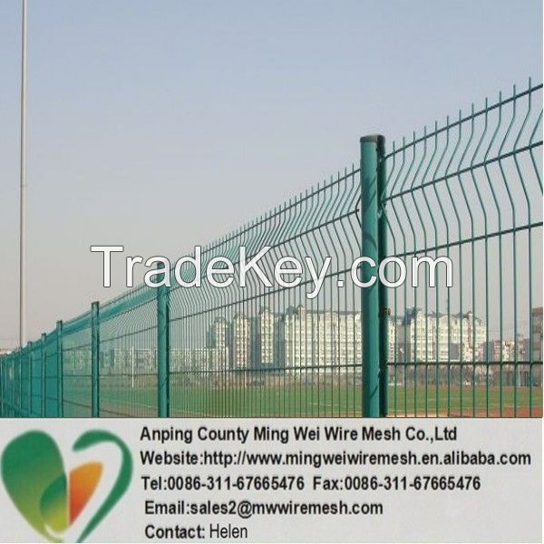 high quality curvy welded fence