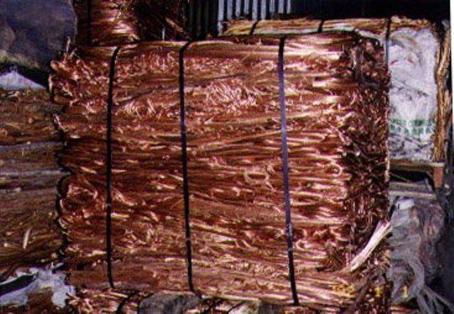 Copper Scrap 99.5%