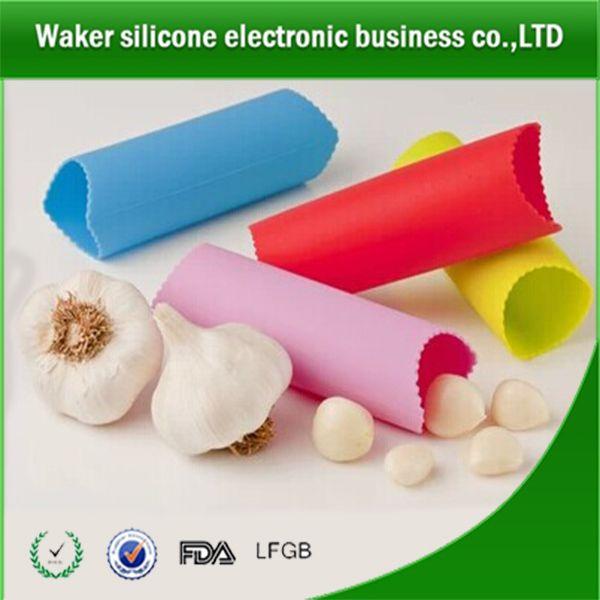 Amazing silicone garlic peeler