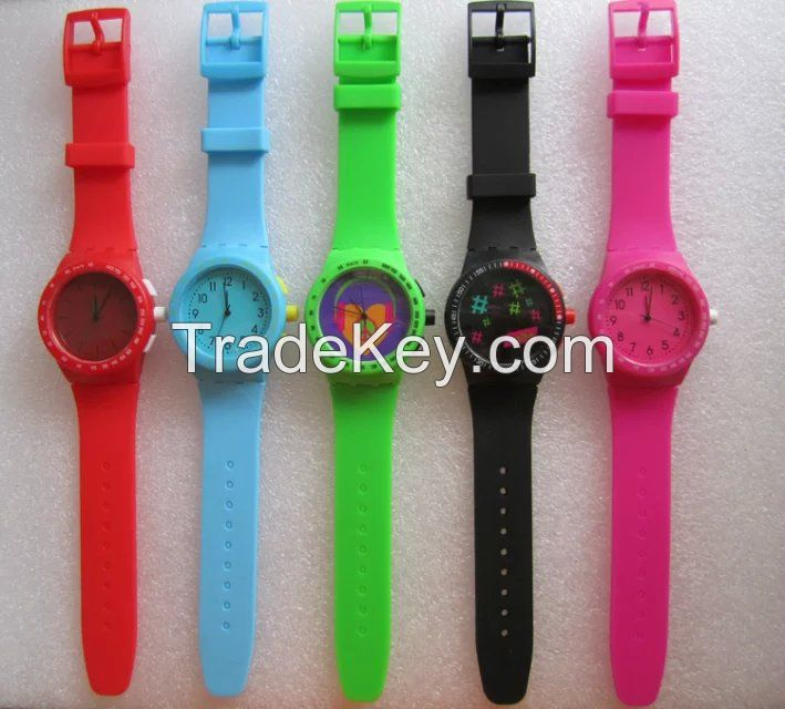Silicone watch Japanese Movement OEM/ODM Service Good Quality Sample Available