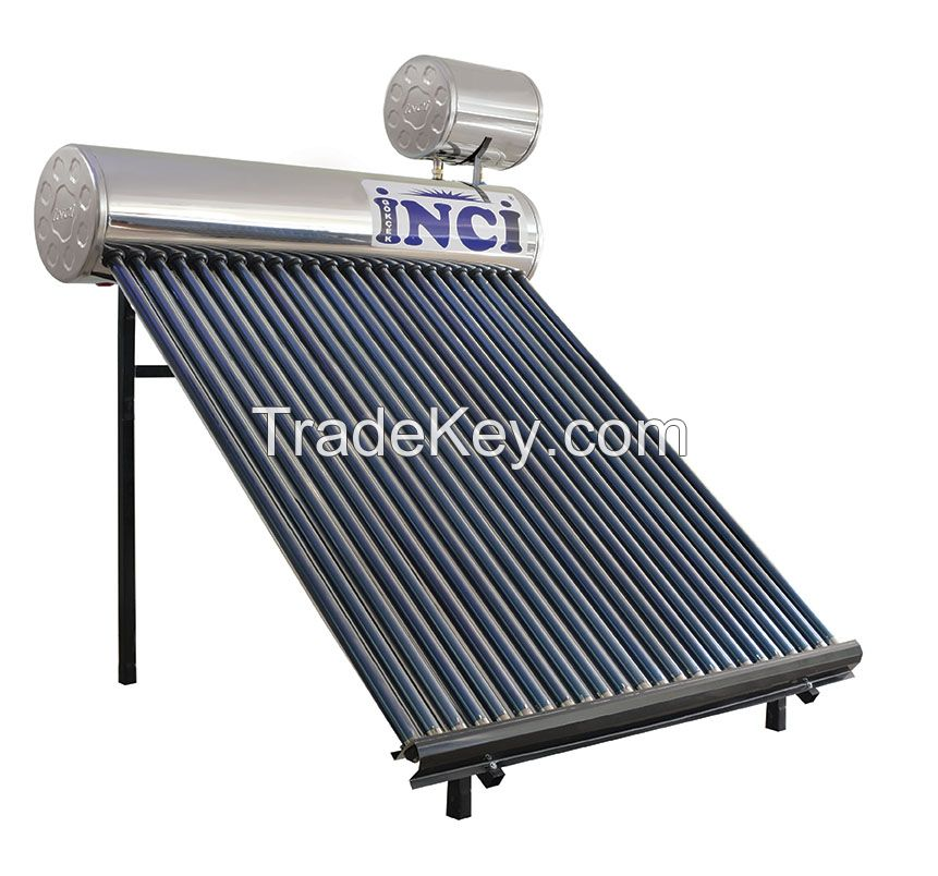 24 Tubes Chrome Solar Water Heater
