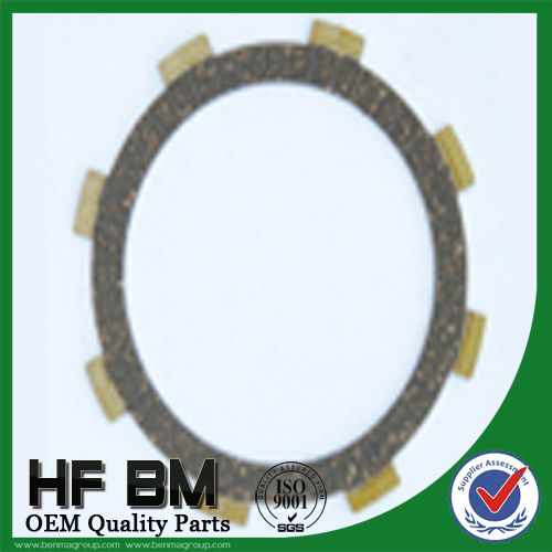 Motorcycle Clutch disc CG125, spare parts clutch disc, hard wearing paper base CG125, Hot selling!!