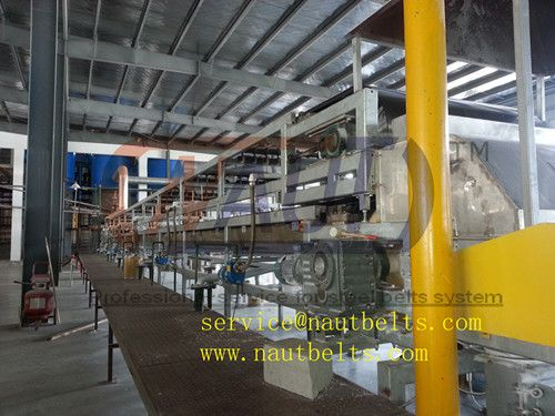 Granulation Cooler steel belt conveyor for chemical flakes