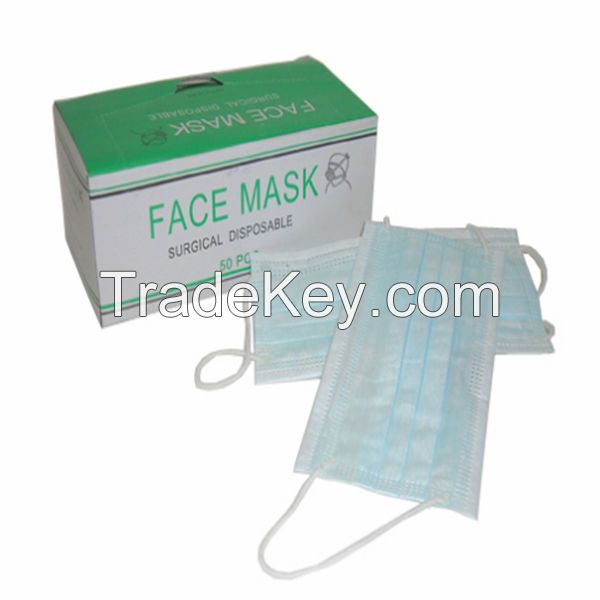 disposable blue full face dental mouth mask
