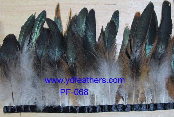 feather pheasant trim/fringe