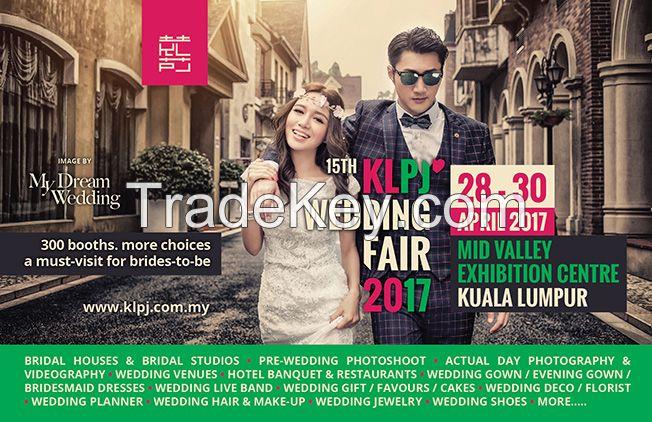 15th KLPJ Wedding Fair 2017 (APRIL 2017) Mid Valley Exhibition Centre