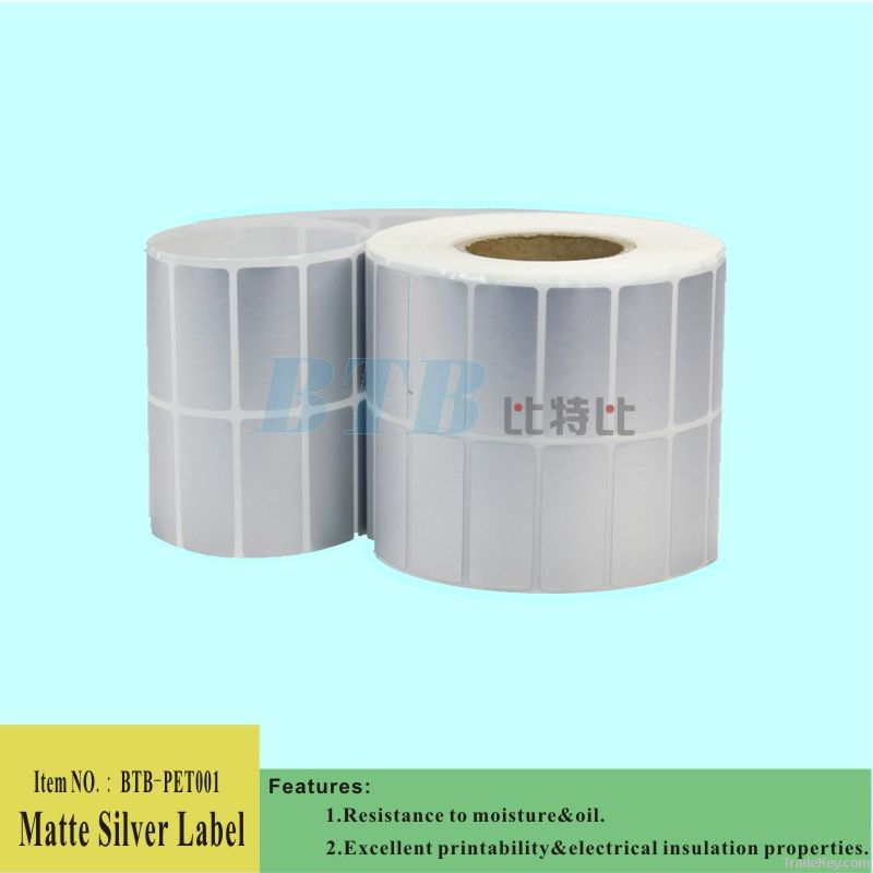 Professional Manufacturer of White PET Adhesive Labels