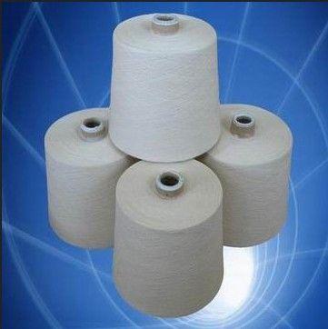 Raw White Polyester Fiber Yarns