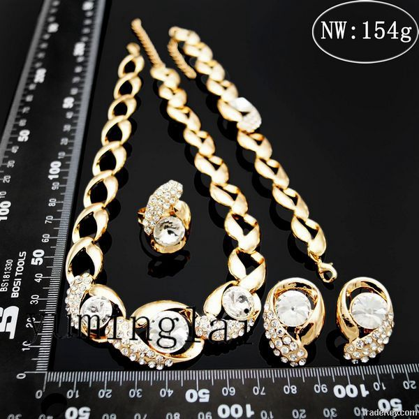 2014 theNewest design factory price hot classical jewelry set