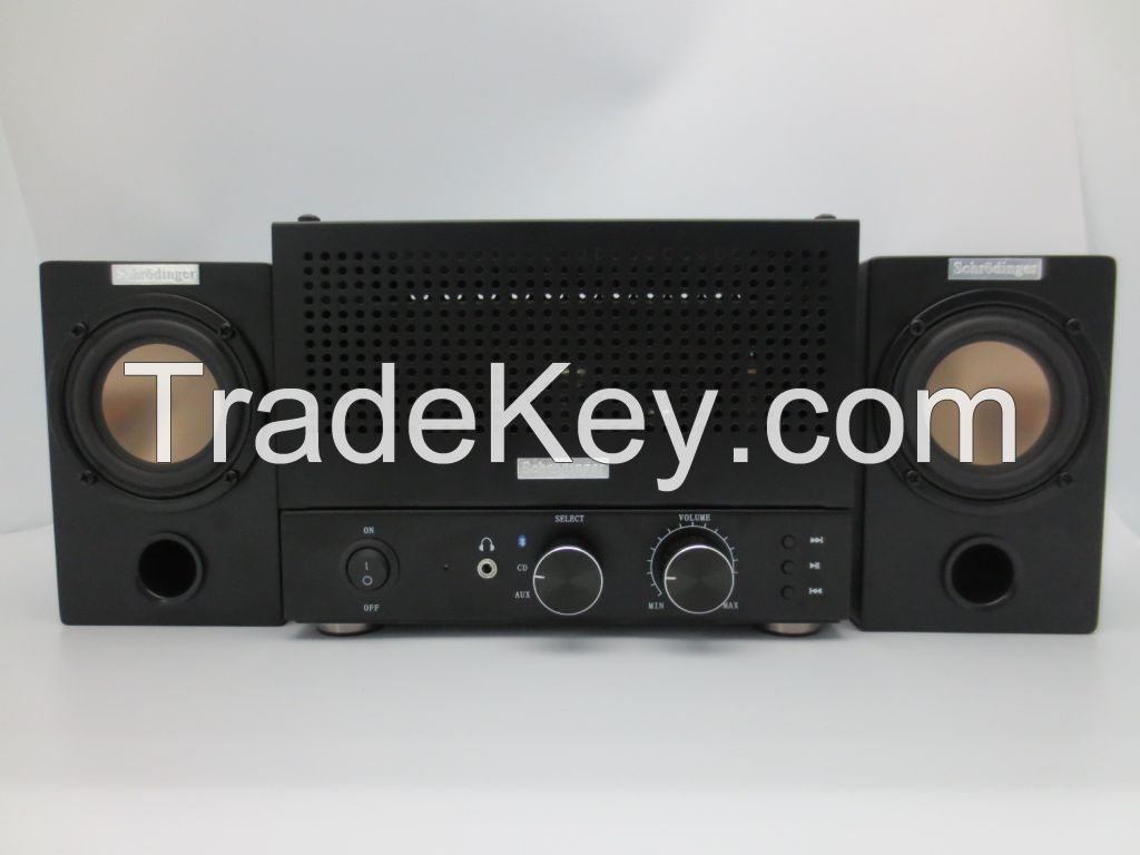 Vacuum Tube Bluetooth Amplifier with speakers