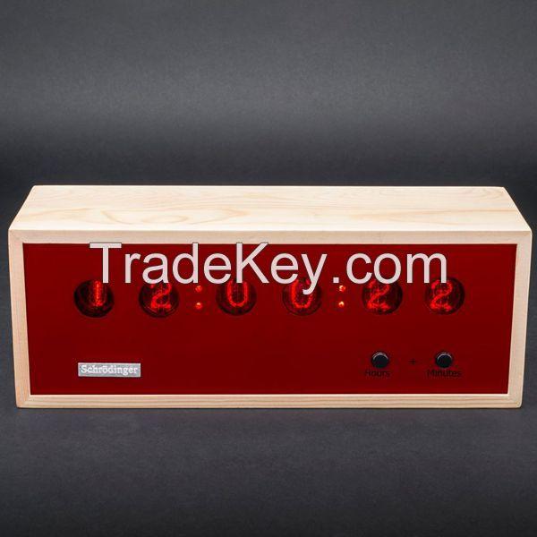 Wooden Case Nixie Tube Clock