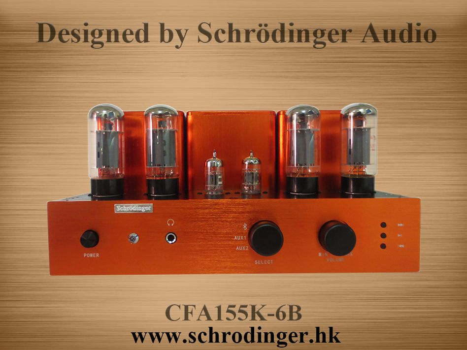 6L6 Vacuum Tube Push Pull Amplifier with Bluetooth Function