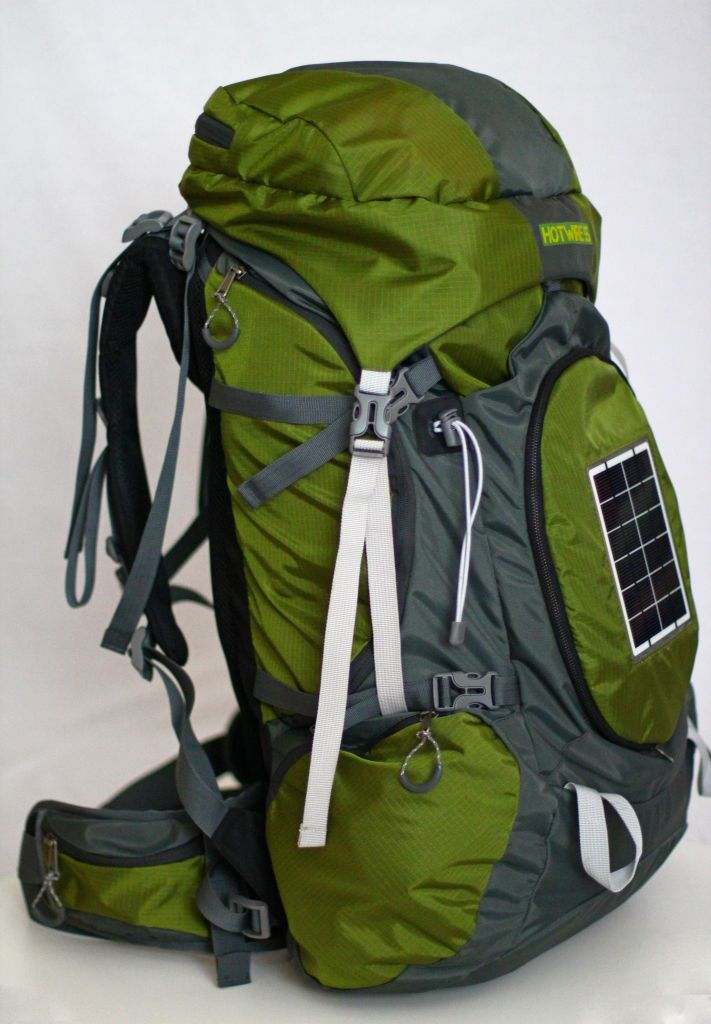 Hotwire 55 Solar Rechargeable Backpack