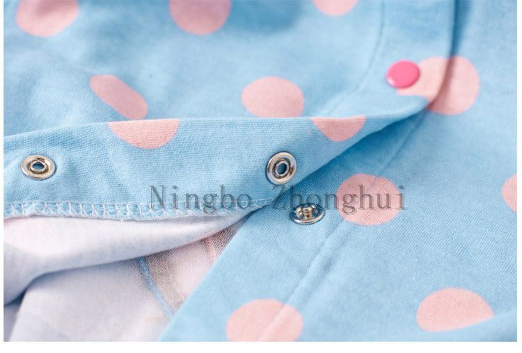 Custom-made 100% cotton newborn baby clothes romper