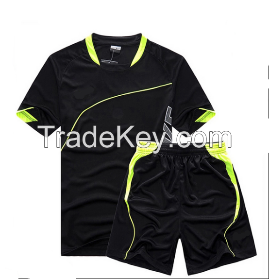 Made in China man football shirt and tops soccer football jersey full customization