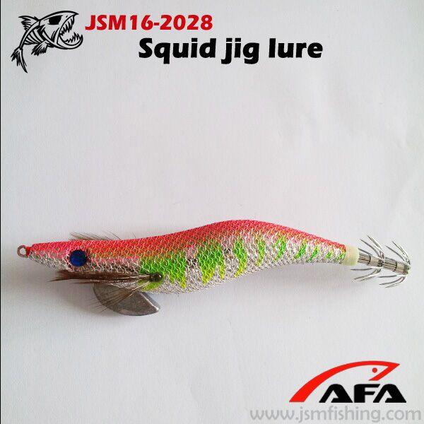 2014 hot squid jig fishing lure,saltwater jig lure JSM16-2008