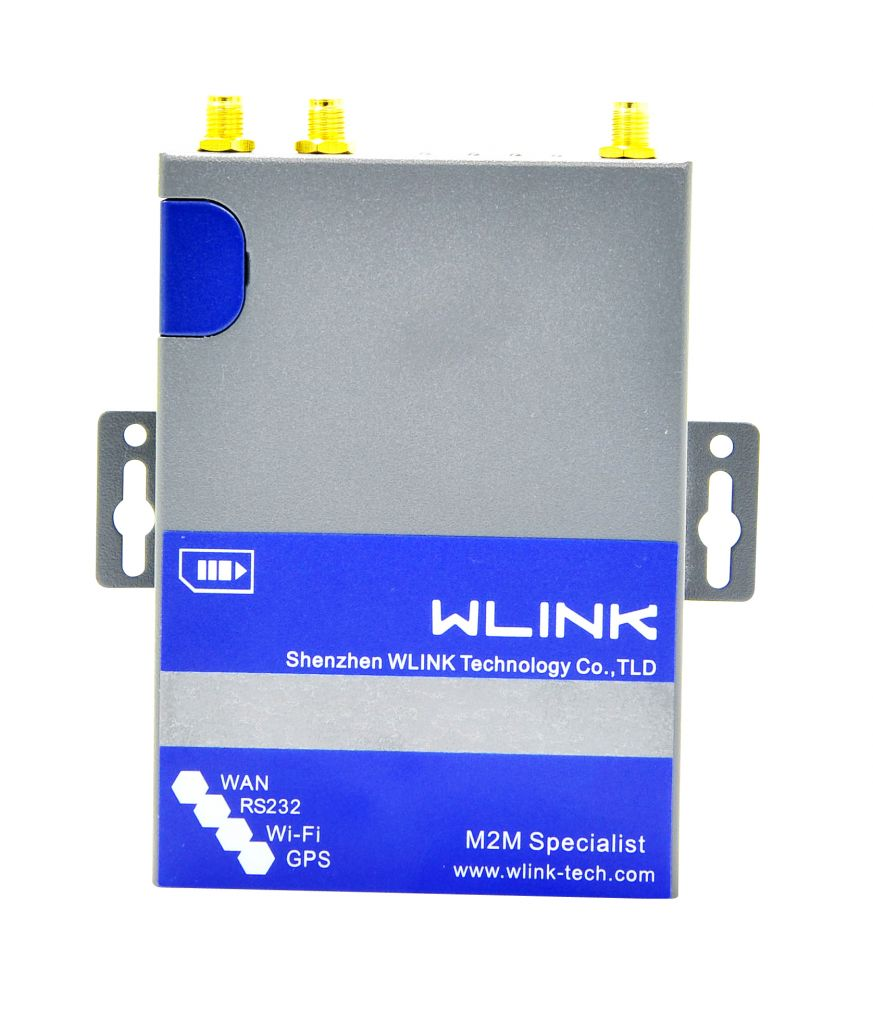 2 LAN Industrial 4G Router WiFi GPS Supported
