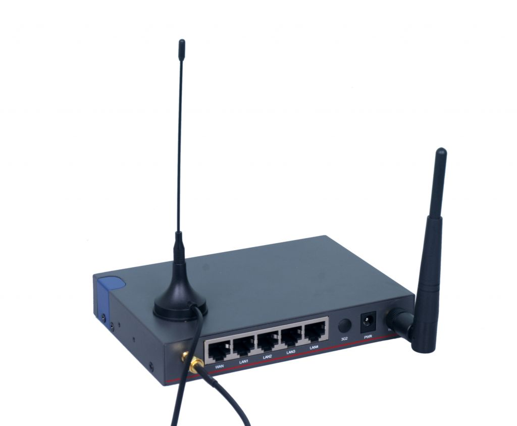 5 Ethernet ports 3G/4G Cellular Router, GPS and WiFi supported Router