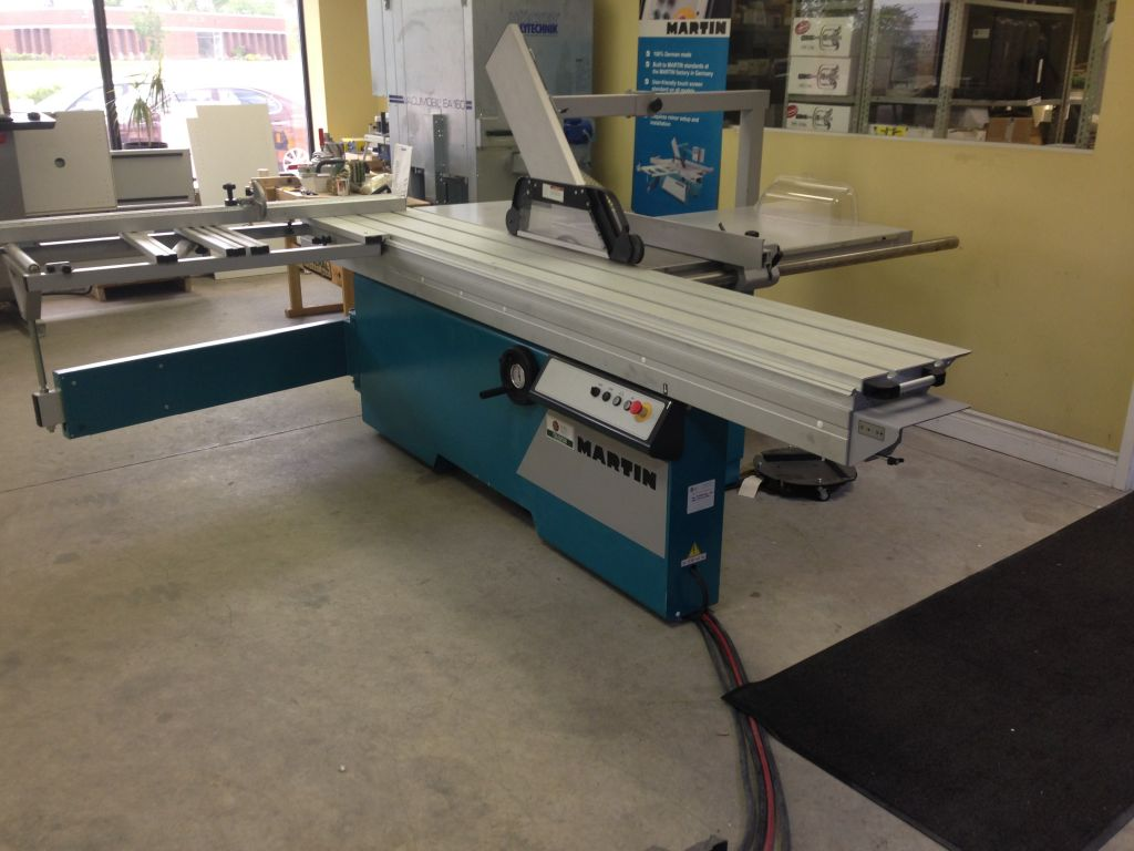 Martin TC 650 - Sliding Table Saw By Taurus Craco Machinery