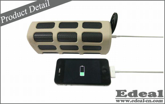Popular Power bank waterproof bluetooth speaker