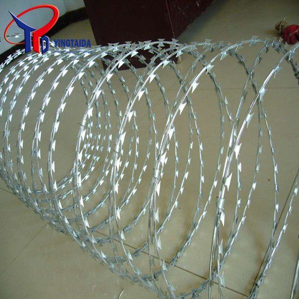 Galvanized Razor Barbed Wire factory supply directly