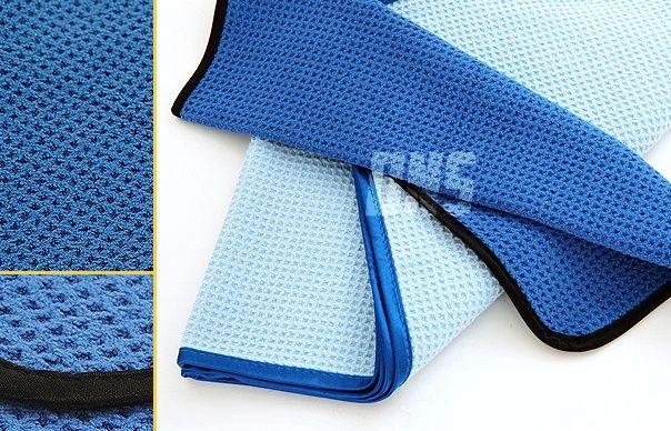 Microfiber Ultra-Soft Waffle Towel