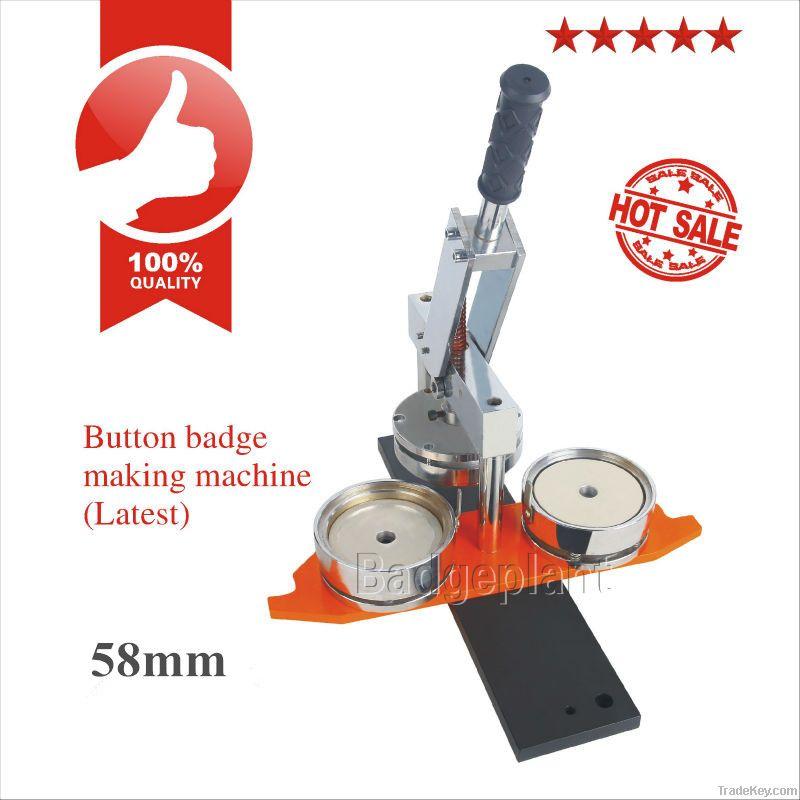 pin badge making machine, button making machine