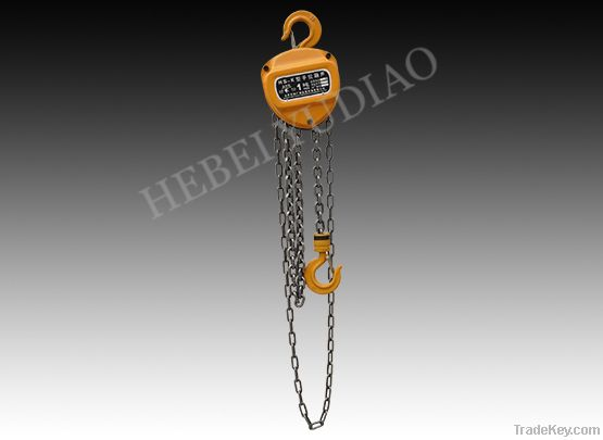 HSZ-KT manual chain hoist