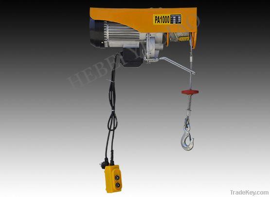 500kg mini electric hoist winch, mini electric cable hoist