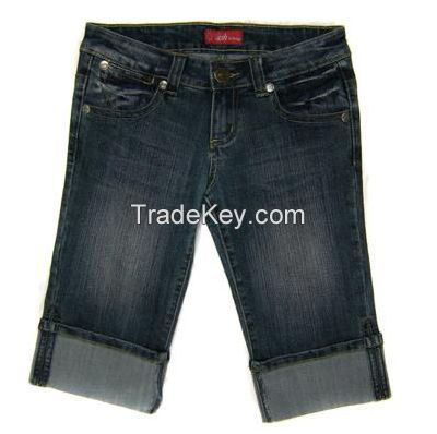Womens Denim Short Pant