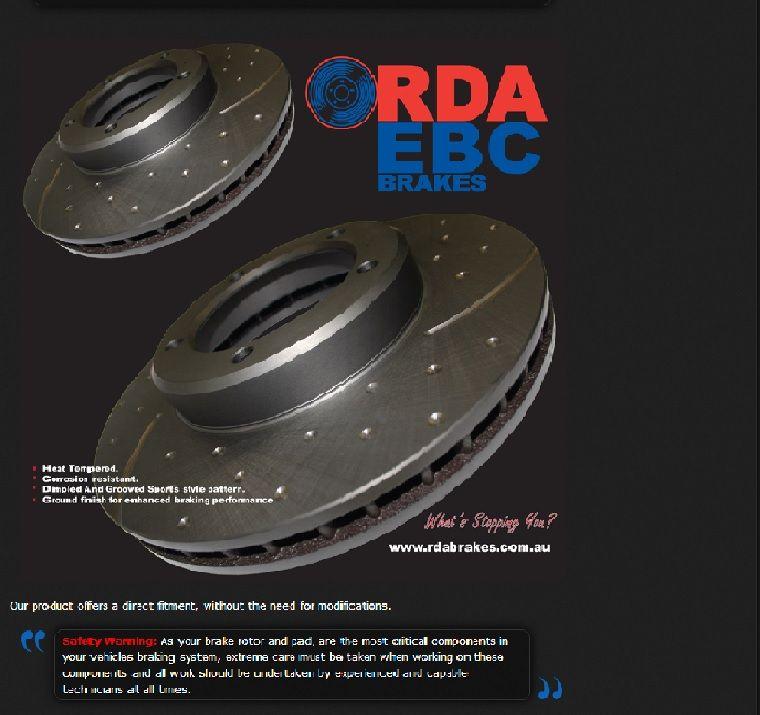 Heavy Duty Brake Pad and Brake Disc