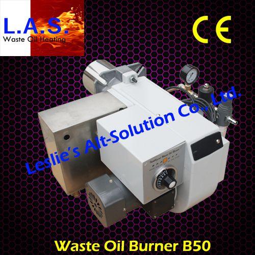 B50 waste oil burner with CE