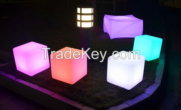 LED Cube Chairs