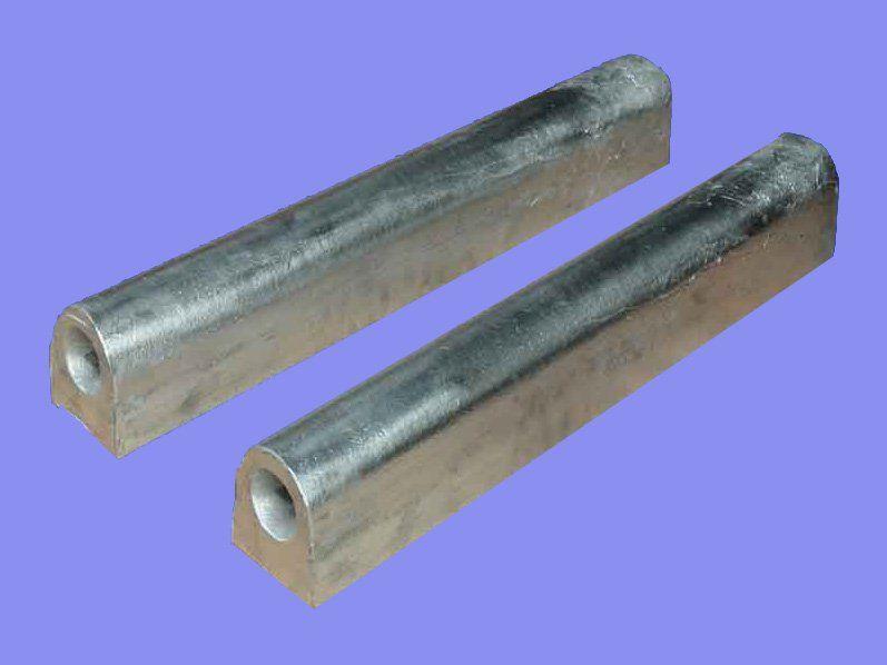 Magnesium alloy sacrificial anodes