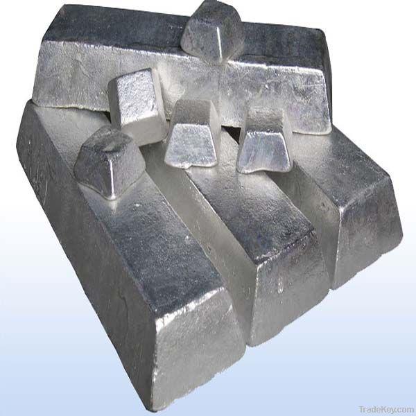 Factory supply Magnesium ingot 99.9% 99.95% 99.98% 99.99%