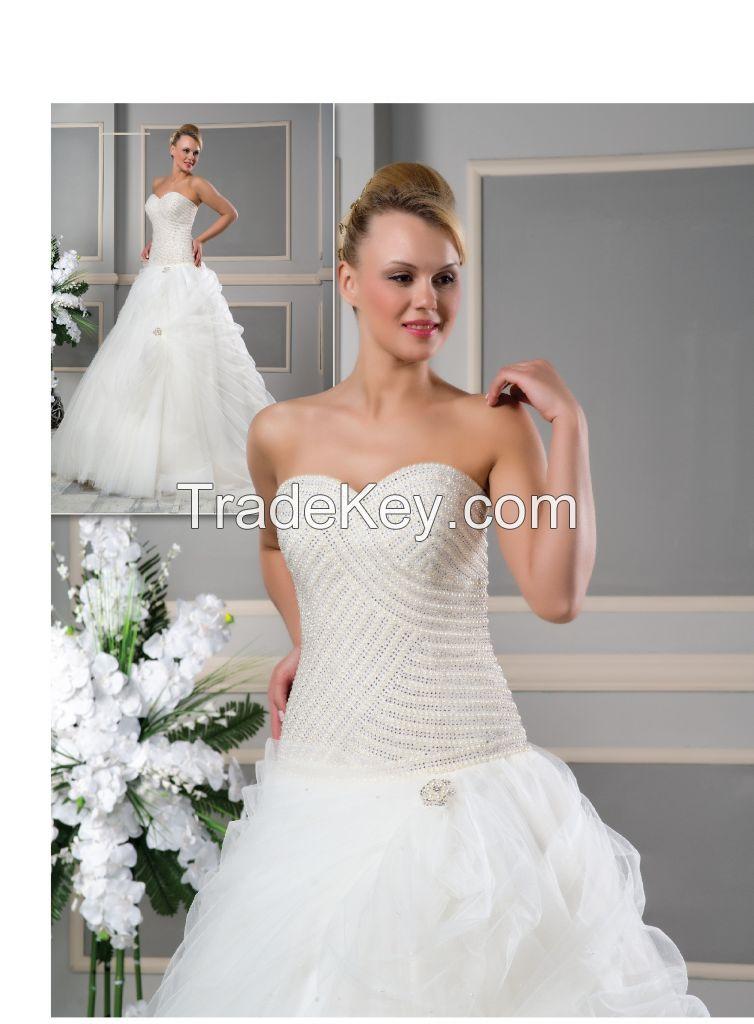 Wedding Dress, Bridal Gown, Bridal