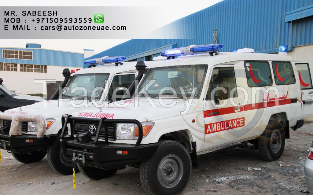 TOYOTA LAND CRUISER AMBULANCE FOR SALE