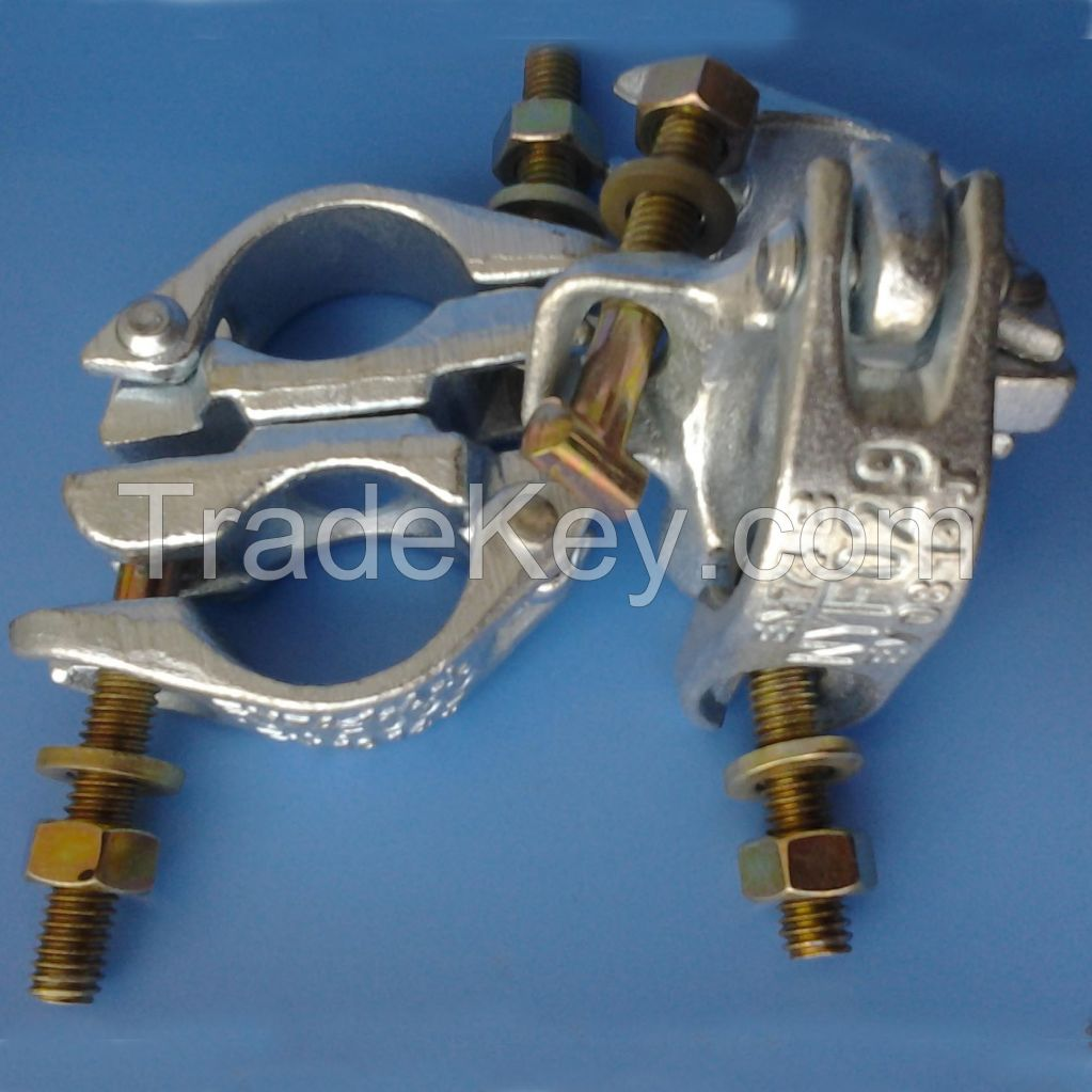 EN74 AND BS1139 drop forged scaffolding coupler