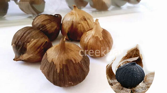 Black Garlic organic health food , fermentation 90 days pure sweet taste buy direct from factory