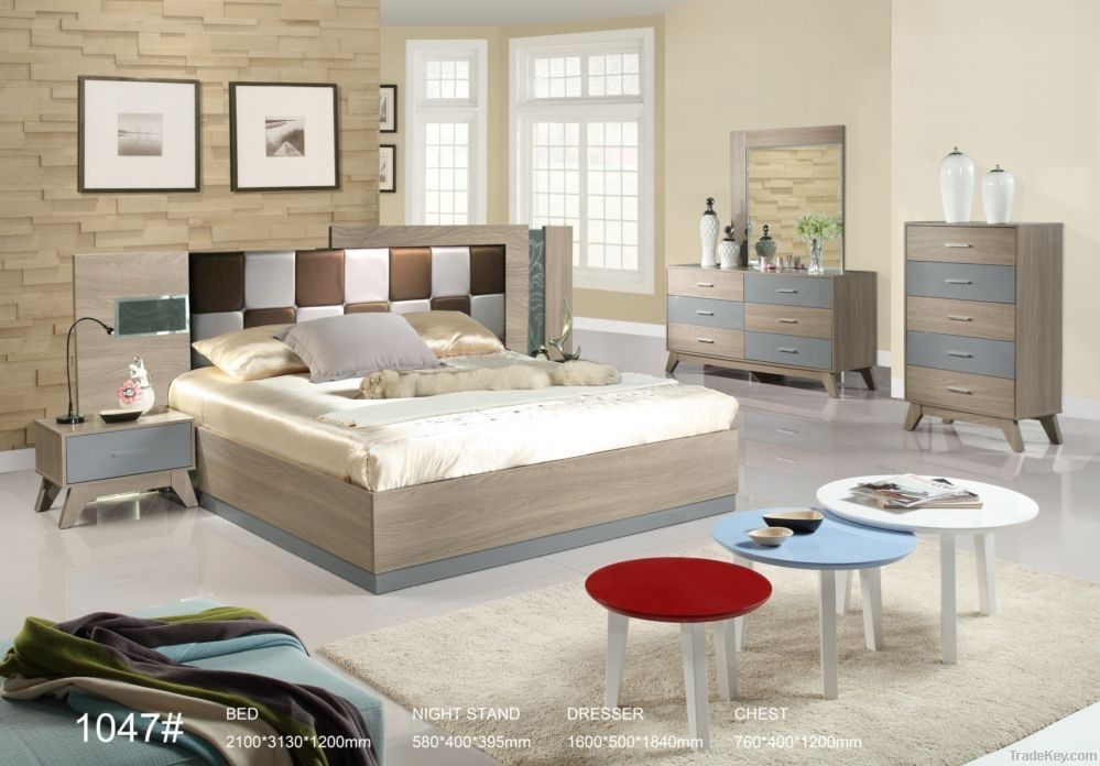 New style bedroom furniture for middle east customer