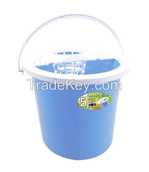 Plastic 5 Gallon Mop Pail